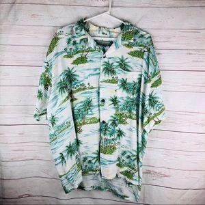 Pineapple Connection Men's Hawaiian Shirt …